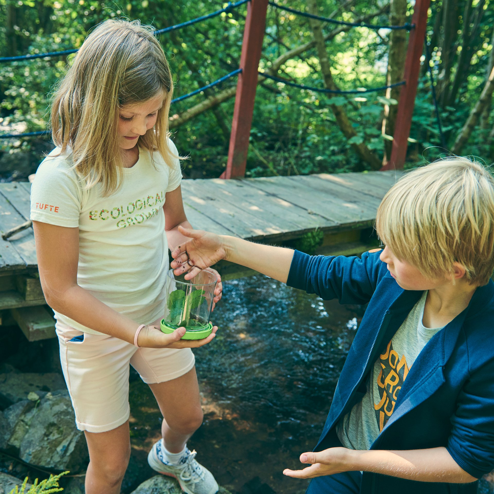Kids eco tee - Ecologically grown