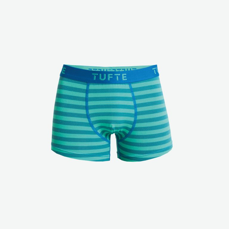 Gutt Boxer Deep Lake/Mint Leaf Stripes